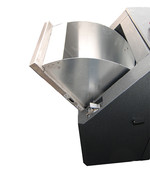 KUBA - brushed stainless steel filling chute